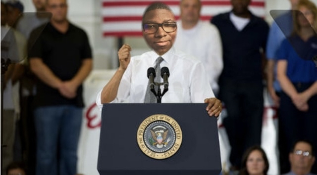 President Davoren goes to Ohio to campaign for term limits