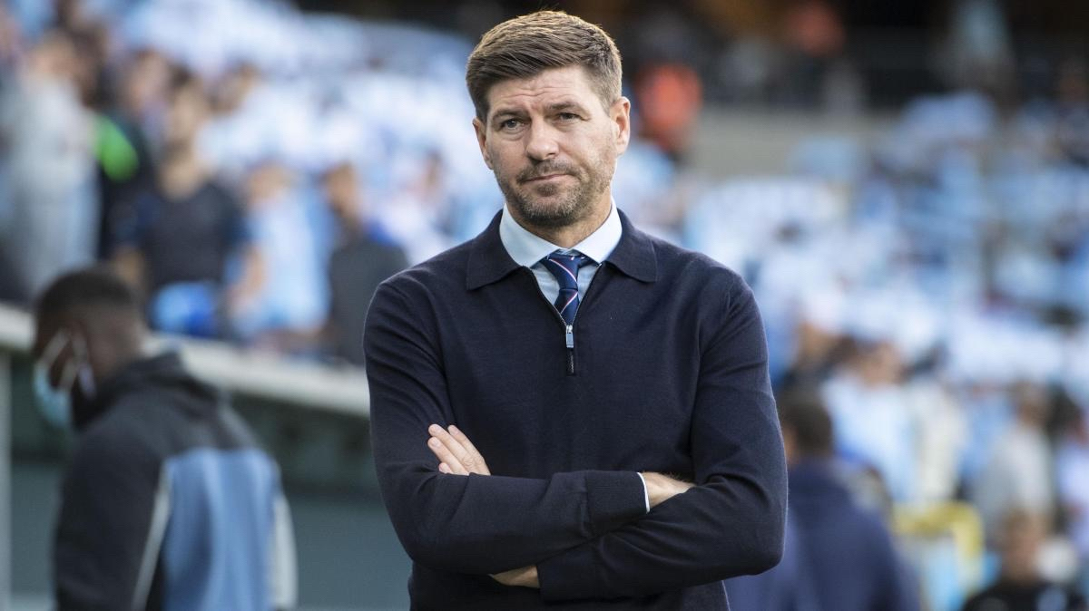 Rangers: Steven Gerrard under fire after dropping points against Ross County this afternoon.