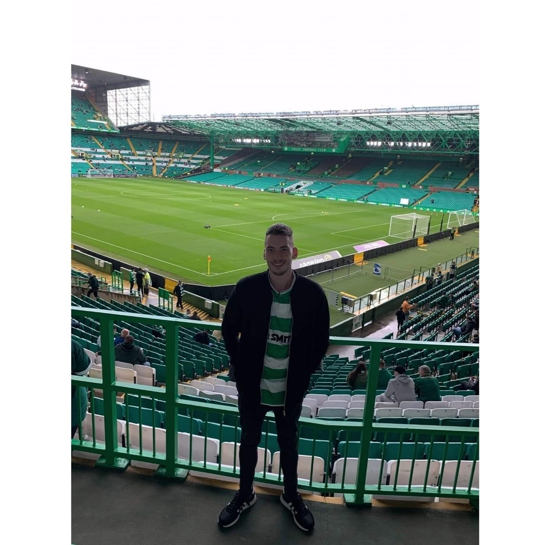 Tragic Celtic Fan In Celtic Park Fall