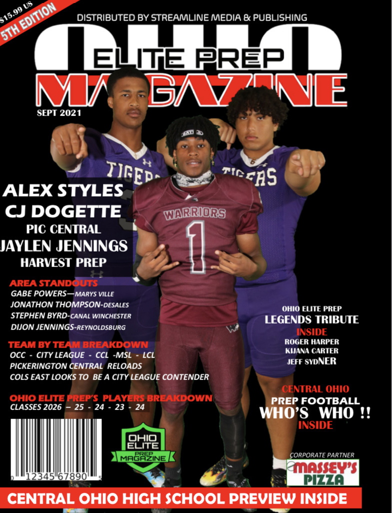 Ohio Elite Prep Magazine Digital Copy Available August 25 Hard Copies Will Be Available Sept 1