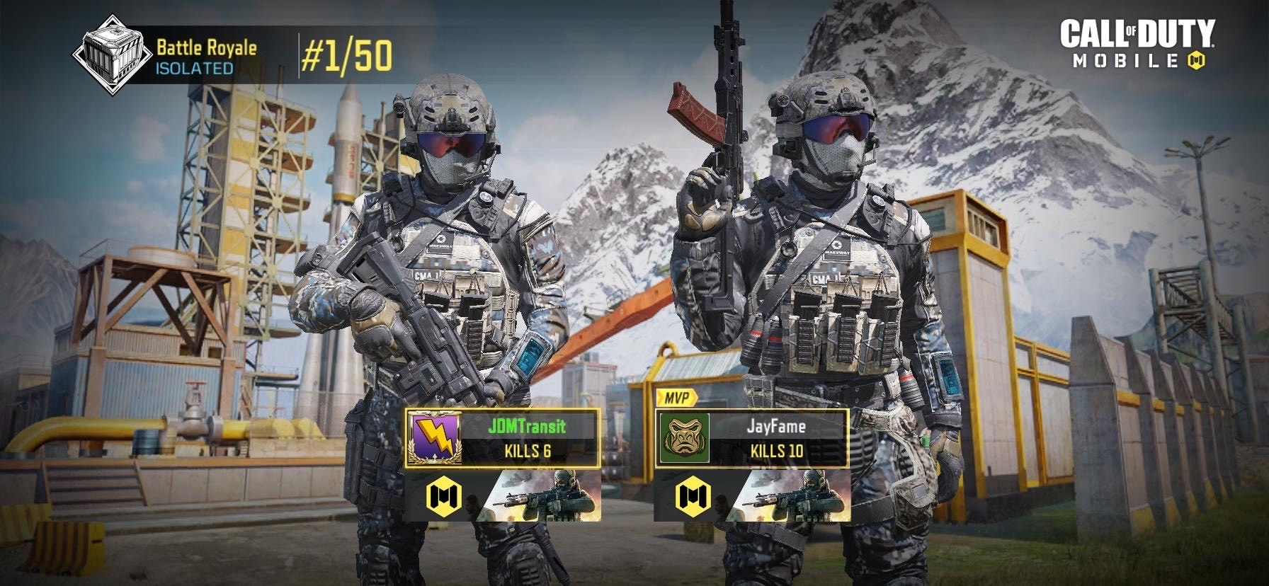 Brothers Set Off Nuke In Warzone